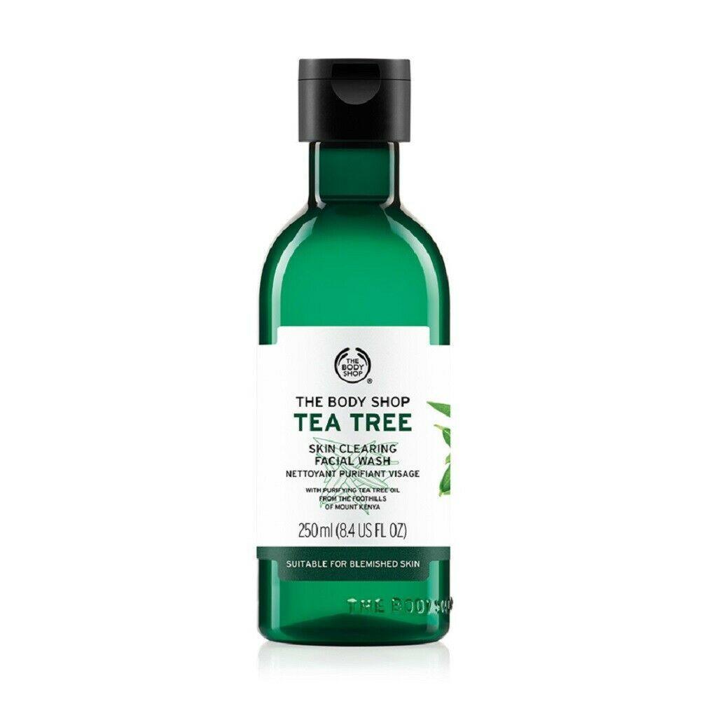 The Body Shop Tea Tree Skin Clearing Facial Wash, 8.4 Fl Oz/ 250 ml - $14.00