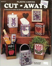 Cut Aways in Plastic Canvas 10 Projects Hot Off the Press HOTP 311 - $4.99
