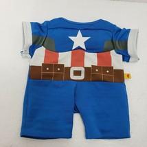Build A Bear Clothes Dress Up Plush Toy Captain America Avengers Stuffed... - $9.74