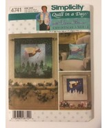 Simplicity 4741 Christmas Guardian Angels Wall Hanging & Tooth Fairy Pillow - $12.00