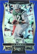 2016 JOE NAMATH PANINI SELECT BLUE FOOTBALL CARD 141/149 - $5.99