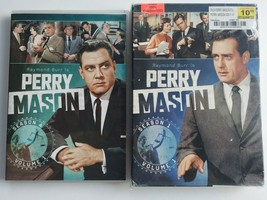 Perry Mason: Season 1 Volume 1 and Season 4 Volume 1 Lot - $14.84