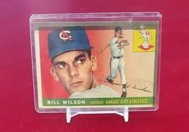 1955 Topps Set Break # 86 Bill Wilson  - $1.00