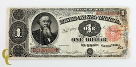 1891 Nous Treasury Dollar Note ( F + À VF) Fin Plus À Très Fin État - $346.45
