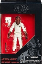 Star Wars The Black Series Admiral Ackbar 3 3/4 Inch Action Figure NIB - $13.85