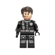 1 Pcs Super Heroes Marvel DC Grand Ward With Gun Fit Lego Block Minifigu... - $6.99