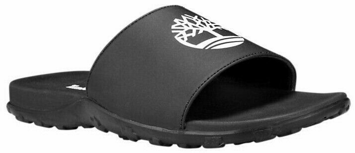 Primary image for Men's Timberland FELLS SLIDE SANDALS, TB0A1XBN 001 Mult Sizes Black