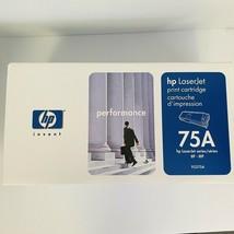 HP Laserjet 75A Black Toner Cartridge Genuine OEM Sealed 92275A - $17.81