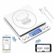 reflex 3000g / 0.1g Digital Pocket Wireless Smart Food Kitchen Scale Gra... - $30.39