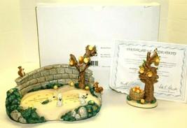 Hummelscapes Collection KinderPark Goebel Frisky Friends Tender Love Spring Fest - $99.00