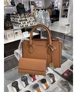 NWT Michael Kors Hope Medium Messenger Satchel & Trifold Wallet Luggage Set - $203.65