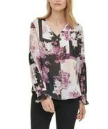 Calvin Klein Floral-Print Blouse - $45.00