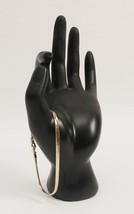 Vintage Serpentine Vermeil Over Silver Metal Bracelet - $12.01