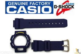 Casio DW-9052-2V G-Shock Original Blue Band & Bezel Combo Kit - $60.25