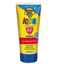 Banana Boat Kids Sunscreen Lotion Tear Free SPF50 PA+++ 90mL + (TLK) - $19.90
