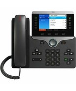 New Cisco 8851 IP Phone CP-8851-K9 5 Line VoIP Color LCD Display Wall Mo... - $175.00