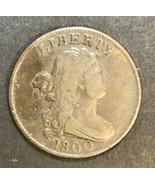 1800 Draped Bust Half Cent F/VF - $292.05