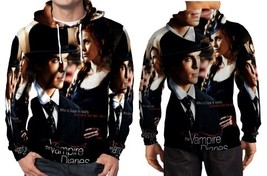 The Vampire Diaries promo picture wp Hoodie Fullprint Mens - $43.99+