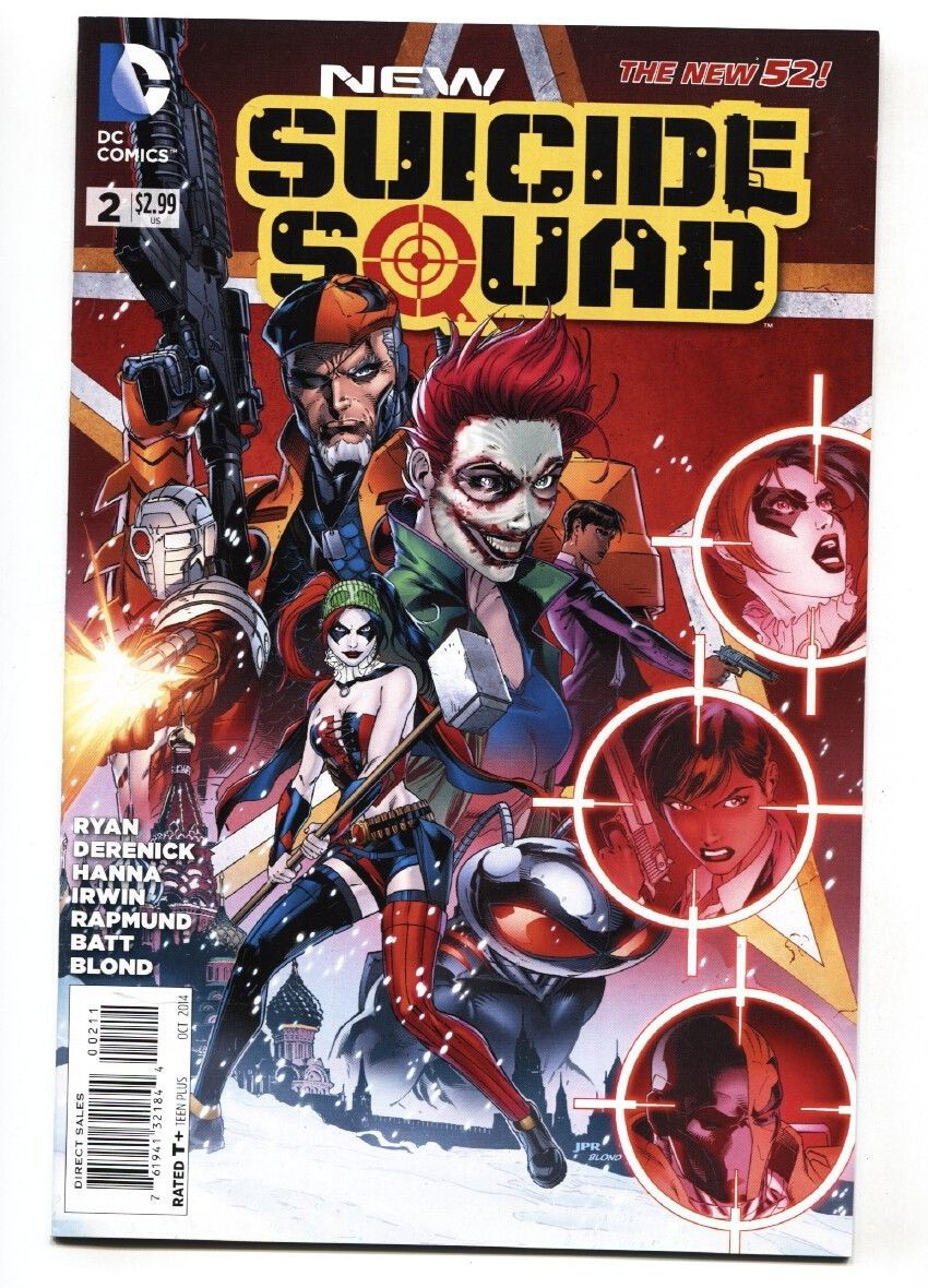 NEW SUICIDE SQUAD #2-2014-HARLEY QUINN-NEW 52-NM--HIGH GRADE