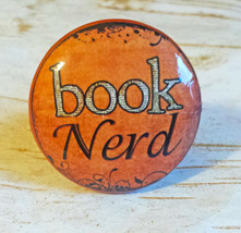 "Handcrafted Book Nerd Knobs, Library 1.5"" Cabinet Knobs, Teen Dresser Knobs - $5.94"