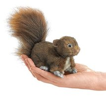 Folkmanis Mini Red Squirrel Finger Puppet - $14.50