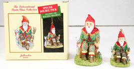 International Santa Claus Collection Jultomten SWEDEN Figure & Ornament NIB - $19.99