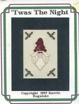 'Twas The Night Christmas Santa Cross Stitch PATTERN/INSTRUCTIONS/NEW Le... - $2.67