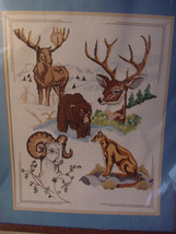 Counted Cross Stitch Kit Wild Life Collage Picture 50210 by Something Special - $15.00