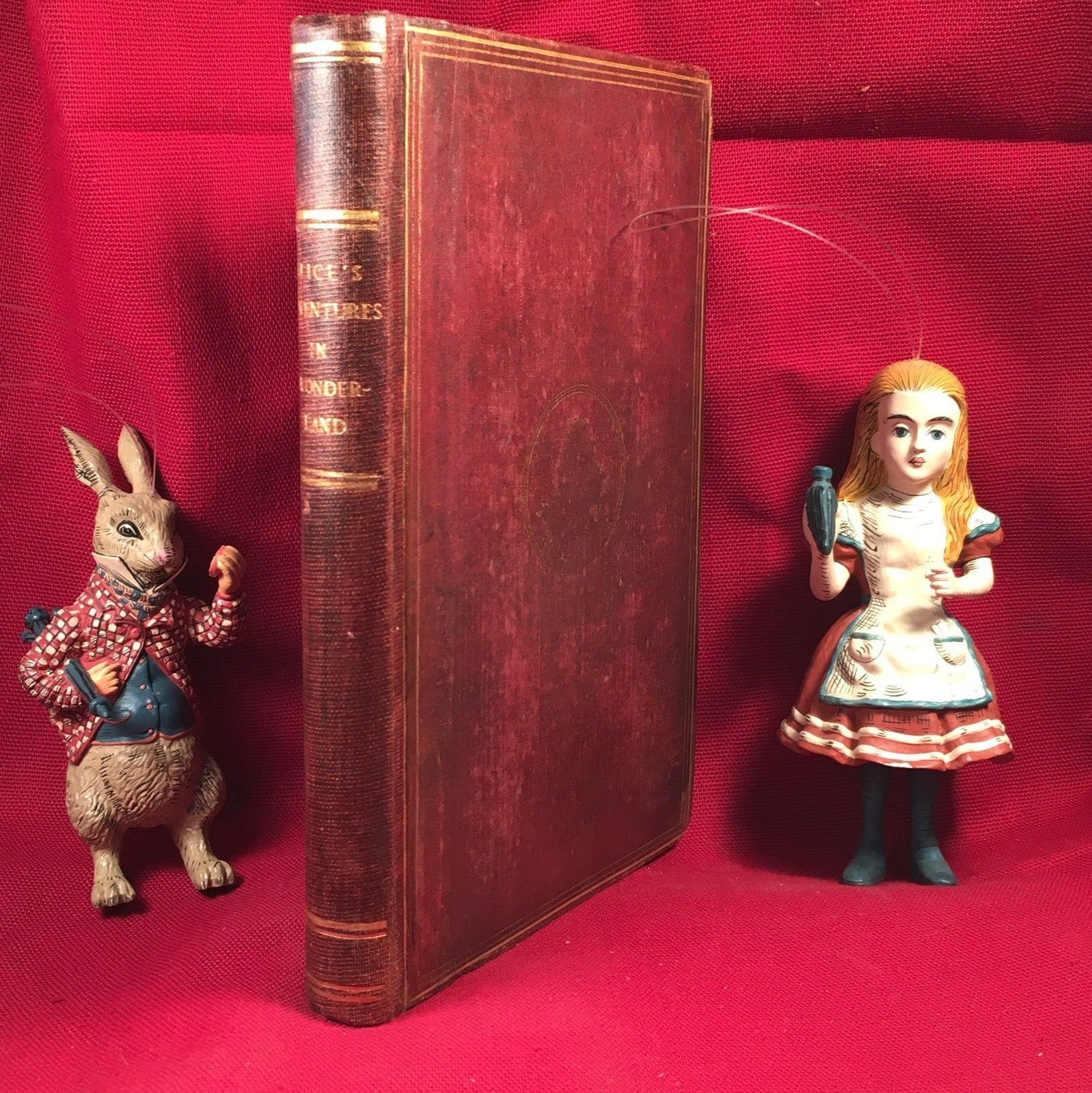 Alice's Adventures in Wonderland Lewis Carroll, Rare 1867 2nd -Ray Bradbury