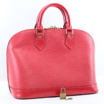 Louis Vuitton Epi Alma Hand Bag Red M52147 Lv Auth 7987 - $480.00