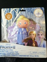 Set of 3 Frozen 2 Floating 3 in 1 Decanter set- body wash/shampoo/ conditioner - $12.86