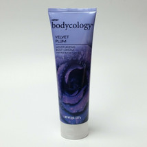 Bodycology Velvet Plum Moisturizing Body Cream 8 oz Jasmine Violet Plum ... - $21.99