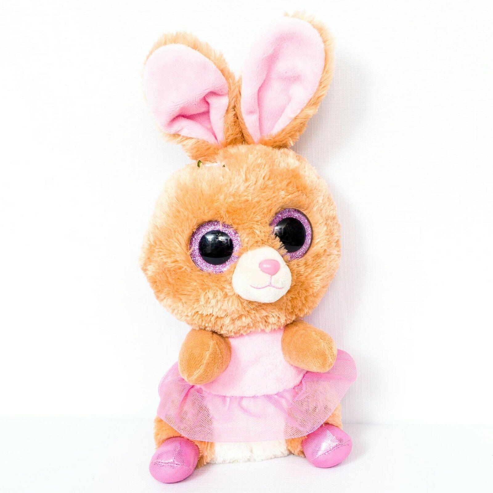"2020 TY Beanie Boos 9/"" Medium SLIPPERS White Easter Bunny Rabbit Plush Toy MWMTs"