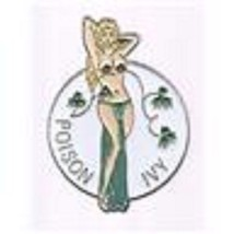 Wwii Nose Art Poison Ivy Pin - $7.91