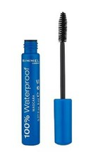 RIMMEL 100% Waterproof Mascara 1s-With a waterproof and run resistant fi... - $16.82