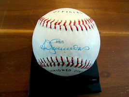 TED SIMMONS HOF CARDINALS BREWERS SIGNED AUTO VTG ALLSTAR BASEBALL BECKETT - $148.49