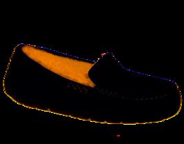 UGG AUSTRALIA Womens Ansley Black Water Resistant Moccasin Slipper Size 9  - $77.59