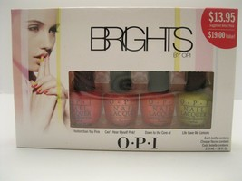 "OPI Brights 4-Piece Mini Nail Lacquer Polish Set ""u R Hotter Than u Thin... - $8.89"