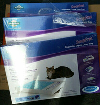 PetSafe ScoopFree Disposable Crystal Litter Tray Refill PAC00-14229 lot ... - $75.00