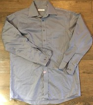 Joseph  Abboud Mens Non Iron 15 1/2 32/33 Shirt Gray - $11.78 CAD