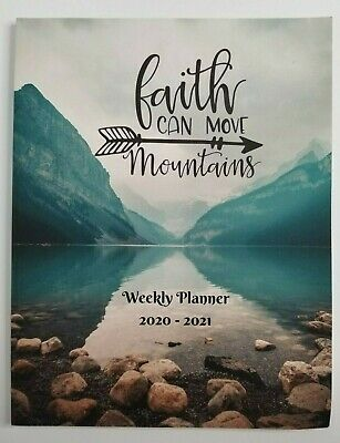 Primary image for Faith Can Move Mountains Weekly Planner 2020-2021 NEW