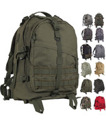 Large Tactical Backpack Military Bag Army Assault Pack Transport MOLLE K... - $54.99+