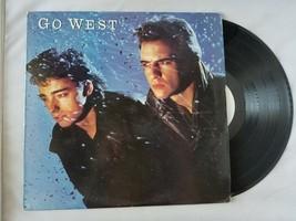 Go West Go West Vintage Vinyle Record Auto Intitulé 1985 Chrysalis Records - $34.35