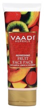 Vaadi Herbals Refreshing Fruit Pack | Apple Lemon and Cucumber, 120g Free Shipn - $9.94+