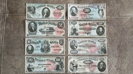 High quality COPIES with W/M United States banknotes 1869 year - $40.00