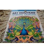 Art Nouveau Animal Designs Coloring Book - $15.00