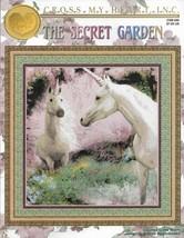Cross Stitch Pattern-Cross My Heart-The Secret Garden-Unicorns - $6.76