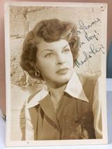 Martha Raye Oh Boy VTG Autographed 5 x 7 Promo Photo - $41.35