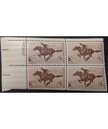Pony Express Set of Four Unused US Postage Stamps - $1.00