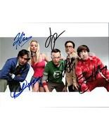 THE BIG BANG THEORY Cast Autographed Hand Signed Photo w/ COA -5031 - $125.00